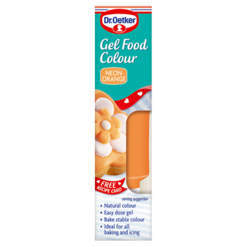 Teddy\'s Gel Food Coloring Orange | Teddy\'s Nuts